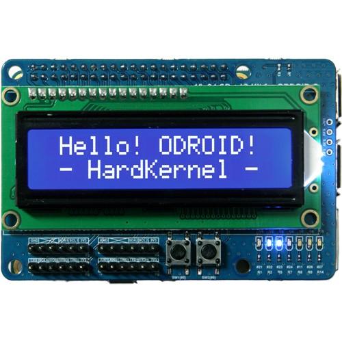 Odroid 16x2 LCD + IO Shield [77707]